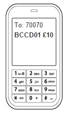 Text Message Donation